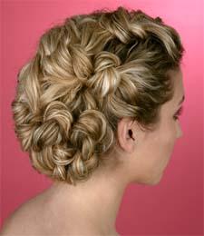 Красивые прически для волос средней длины , Укладки для волос средней...